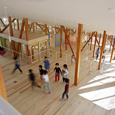 Kentaro Yamazaki / YAMAZAKI KENTARO DESIGN WORKSHOP : Hakusui nursery school thumbnail